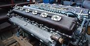 Двигатель д-12 для тепловоза