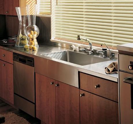 Элегантный дизайн кухни в стиле модерн