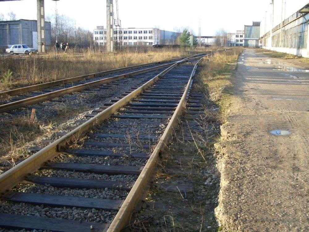 Изготовление продольного профиля подъездного железнодор...