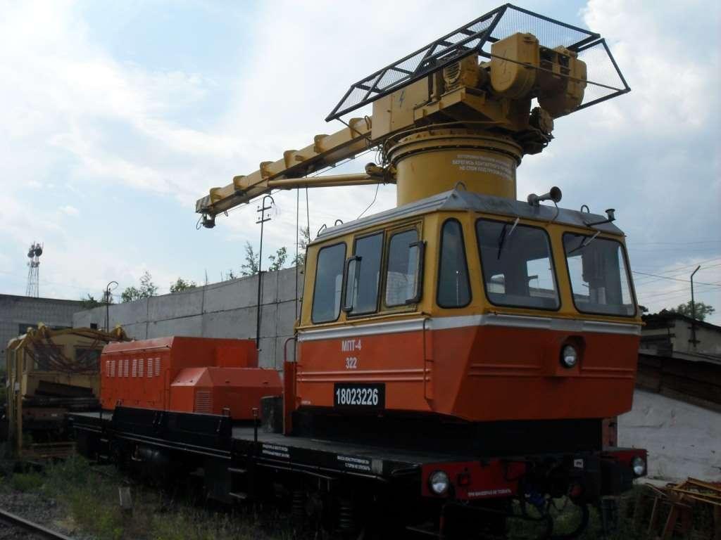 Мотовоз погрузочно-транспортный МПТ-4