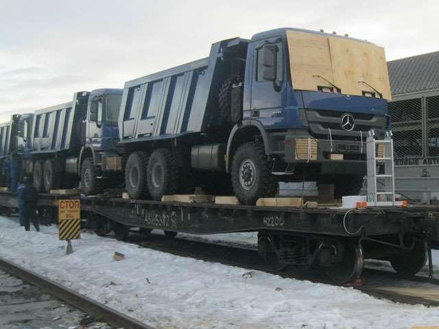 Перевозка грузов железнодорожным транспортом крупногаба... ПЛ