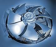Осевые вентиляторы серии FE для транспортных кондиционе...